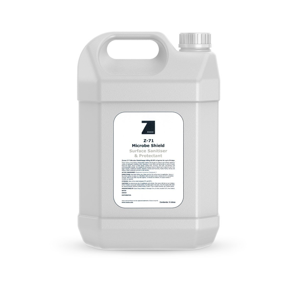 zoono microbe shield